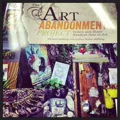 This week's creative reading >>> Blogged: The Joy of Art Abandonment: Create and Share Random Acts of Art : http://wp.me/pnSxW-2vq via Creativity in Motion