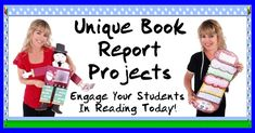 Fun Book Report Projects, Templates, and Worksheets For Elementary School Teachers and Students