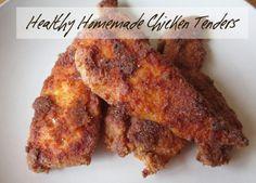 #Healthy Chicken Tenders #Recipe