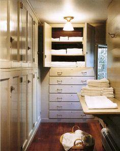 linen closet // skylands // martha stewart's home
