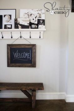 DIY Wood Crafts: DIY:How to make a Chalkboard!