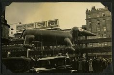 some funky looking balloons from the 1932 Macy's parade