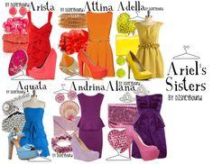 bridesmaid dress in each color