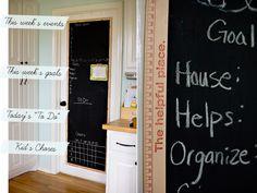 Simple Door Chalkboard
