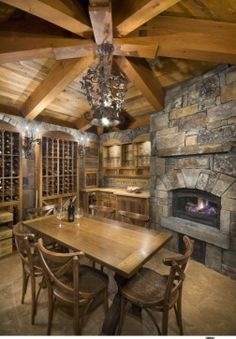Wine Cellar Photos Old World Tuscan Design, Pictures, Remodel, Decor and Ideas - page 14