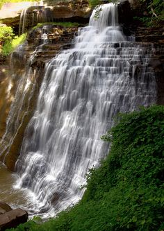 Brandywine Falls | Cuyahoga Valley National Park, Ohio | Photo by Me.