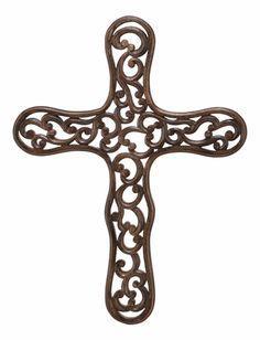 Links of Love wooden cross