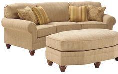 3768 Curved Sofa by Fairfield