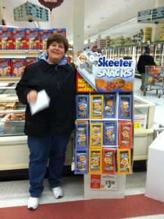 Have you seen a Skeeter Snacks display in your hometown!! We love when you share how much you love our snacks with us!