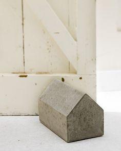 white + cement