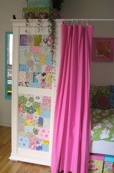 Love this idea for a girls room!