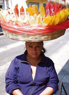 fruit vendor, Guatemala.  Photo: Hideki Naito, via Flickr