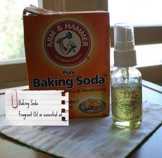 Make your Own Mattress Freshener and Carpet Powder