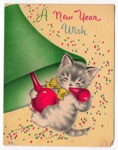 """A New Year Wish"" kitten"
