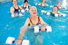 Summer water exercises specifically for senior adults.  Click to see them all