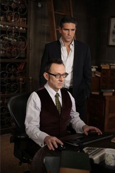 Person of Interest - Jim Caviezel/John Reese with Harold Finch :)