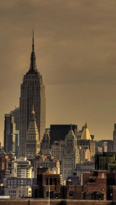 Skyscrapers, Empire State Building, New York, United States,