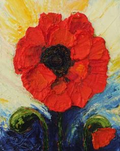 Poppy Paintings - Bing Images