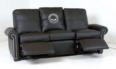 Harley-Davidson Furniture - HD-11868-MR Motorized Reclining Sofa