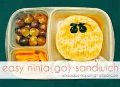 Ninja...GO! {how to make a sandwich that impresses a 2nd grade boy}