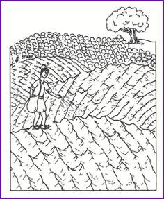 Maze (Parable-Sower and Seed) - Kids Korner - BibleWise