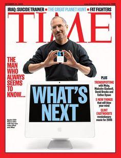 Steve Jobs (2005 TIME cover)