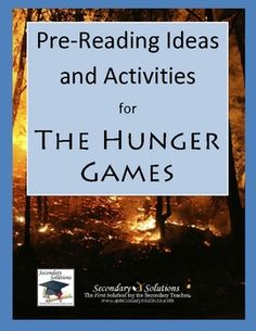 $4.99 Complete set of Pre-Reading Activities for introducing the historical context and themes of The Hunger Games before reading. Addresses Common Core ...