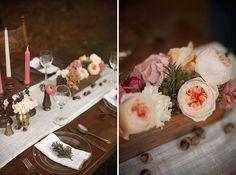 Nature Themed Winter Wedding Inspiration