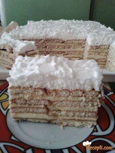 Recept za Brzu keks tortu. Za spremanje ovog jela neophodno je pripremiti keks, mleko, puding, šlag, margarin.