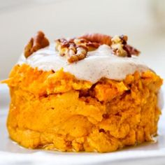 Low-Calorie Desserts: Two-Minute Microwave Pumpkin Pie - Dessert Recipes: Mouthwatering Low-Calorie Desserts - Shape Magazine