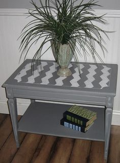 beautiful side table makeover