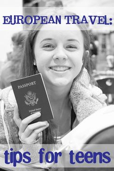 European travel tips for teens including packing list & safety considerations || Such the Spot