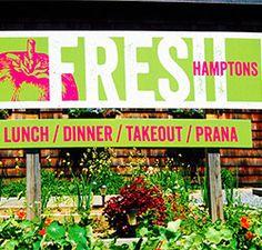 Fresh Hamptons restaurant in Bridgehampton, NY