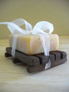 Goats make 'more than just milk~' with a PH level close to human skin...it's perfect in soaps!