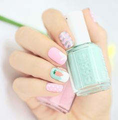 easter mani