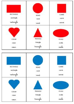 La classe de Laurène: Loto des formes et des couleurs