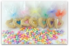 Conversation Heart Party - Cookies & Candy