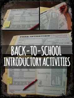 Looking for a fun and engaging way to start the school year with a new class? With 3 activities based on getting to know students, helping them to reflect on last year and interact with each other, this product will help you break the ice and start the year well!