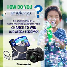Win the Panasonic gi