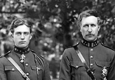 His Royal Highness Prince Leopold of Belgium and HM King Albert I of Belgium (1875-1934)