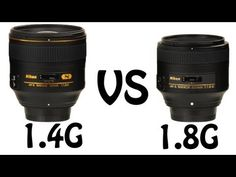 ▶ Nikon 85mm 1.4G vs 1.8G - YouTube
