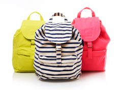 Baggu Backpacks #neon
