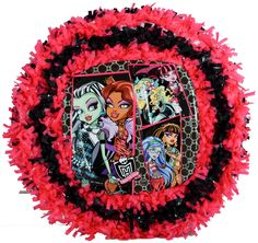 Monster HIgh Pull String Pinata