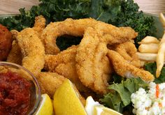 Fried Mullet...(w/ a side of swamp cabbage would make it even better)...