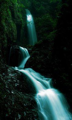 Ryukanotaki Falls, Nasu, Japan