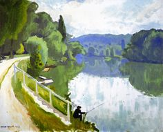 The Banks of the River  Albert Marquet