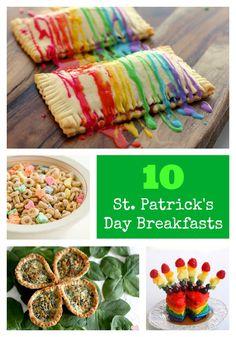 10 St. Patrick's Day Breakfasts via Tipsaholic.com