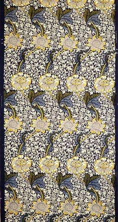 Fabric by William Morris, England