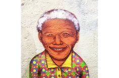 Os Gemeos - Nelson Mandela tribute