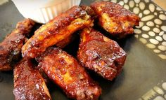 Slow Cooker Barbecue Chicken Wings - Good Dinner Mom